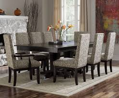 home design dining room dinette sets small spaces black leather