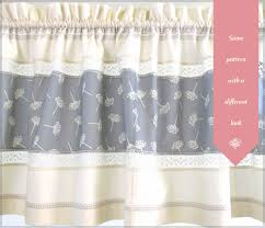 Lace Valance Curtains Window Valance Panels With Lace Decorative Stitching Sew4home