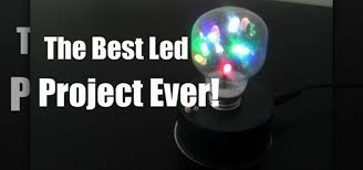 How To Make Led Lights How To Make A Light Bulb With Dancing Leds Inside Hacks Mods