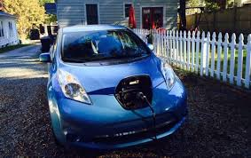 The Car Interior Preheater Life With A Used Nissan Leaf Cold Weather Arrives Treehugger