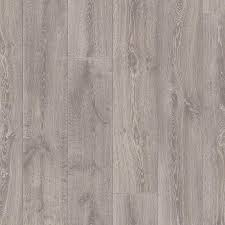 Traffic Master Laminate Flooring Pergo Portfolio 8 07 In W X 6 72 Ft L Silver Oak Wood Plank