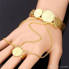 bracelet ring design images 2018 women 39 s special design slave bracelet christmas birthday gift jpg