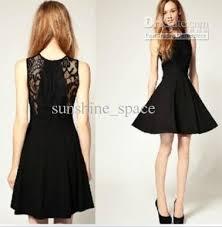 european style lace dress cotton dress classic black dress lace