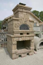 Pizza Oven Fireplace Combo by Outdoor Stone Fireplace With Pizza Oven New House Decorating