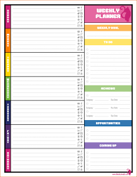 daily planner templates weekly blog planner png scope of work