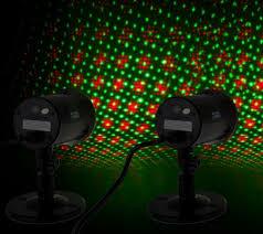 starnight magic set of 2 outdoor indoor dancing dual laser lights