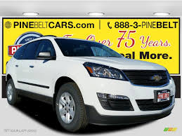chevrolet traverse ls 2017 summit white chevrolet traverse ls 117654591 gtcarlot com