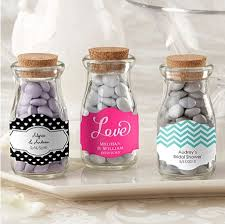 personalized favors personalized vintage glass milk bottle wedding favors bridal