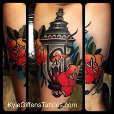 little tattoo studio lantern tattoo by tattoo artist kyle
