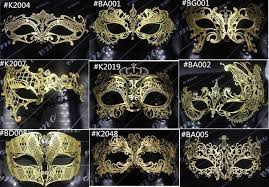 cheap masquerade masks 10pcs lot gold venetian metal masquerade mask party