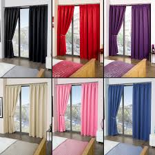 Purple Thermal Blackout Curtains by Luxury Thermal Blackout Curtains Black Cream Pink Blue