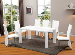 white modern dining table set interesting modern dining room sets uk ideas ideas house design
