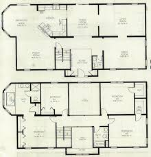 2 home plans 2 floor house blueprints homes floor plans