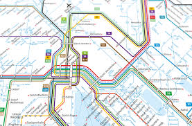 Boston T Map Pdf by Zurich Subway Map My Blog
