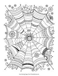 halloween coloring pages for adults colouring to fancy draw image
