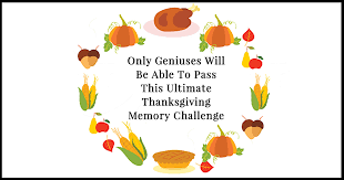 only geniuses will be able to pass this ultimate thanksgiving