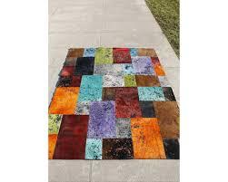 Tapis Salon Multicolore by Tapis Design 100 Peau Nick Multicolore Disponible En 2 Dimensions