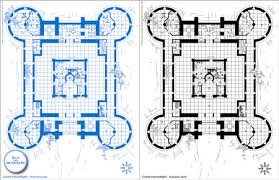 castle floor plans minecraft cool design building plans minecraft castle 5 blueprints fhegxkc on
