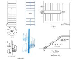 spiral staircase floor plan classification of stairs different types of stairs used in a