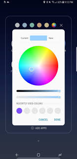android color picker galaxy s8 oreo update new home screen features coming in android