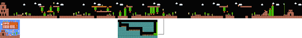 Super Mario World Level Maps by Super Mario Bros The Lost Levels Maps Of Every Stage