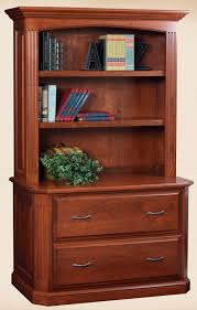 Cherry Lateral File Cabinet 2 Drawer by Oakwood Furniture Amish Furniture In Daytona Beach Florida