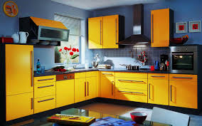 yellow and white two tone kitchen cabinets pictures of two tone