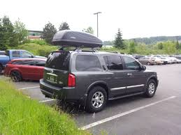 nissan armada top speed roof top cargo carrier ideas page 4 nissan armada forum