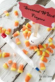 halloween crafts witch finger pens