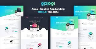 templates v1 blogger appai v1 1 2 app landing page blogger template web graphics theme