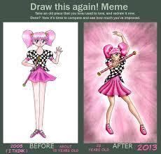 Draw This Again Meme Template - suga senshi draw this again meme by chibi sugar on deviantart