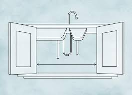 what is minimum base cabinet width how to measure a kitchen sink