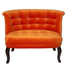 Burnt Orange Accent Chair Phenomenal Burnt Orange Accent Chair For Mid Century Modern Chair