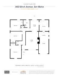1403 birch avenue burlingame properties