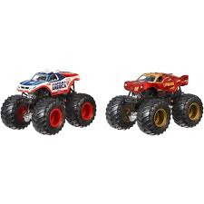 superman monster truck videos wheels monster jam demolition doubles 2 pack styles may vary