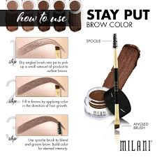 perfect brows in three easy steps bella donna