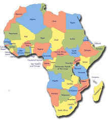 Gabon Africa Map by Flashweather Africa