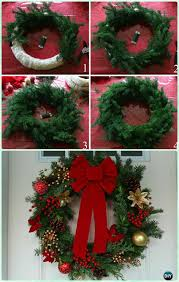 christmas reefs diy christmas wreath craft ideas decoration