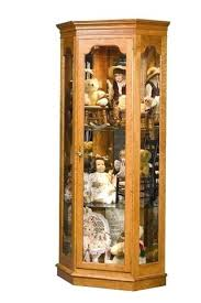 lighted curio cabinet oak corner curio cabinet estate corner curio cabinet lighted corner