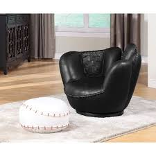 Walmart Chair And Ottoman Acme All Star Baseball 2 Piece Chair And Ottoman Set Walmart Com