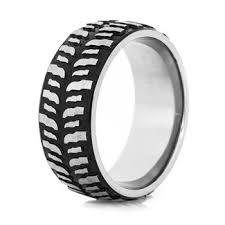 tire wedding ring tire tread wedding rings dirt bike goodyear motorcycle