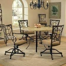 Kentucky Dining Table And Chairs Dining Room Chairs With Casters Foter
