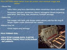 pola pattern adalah laboratorium metalurgi ppt download