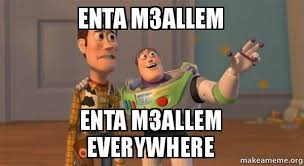 Buzz Lightyear Everywhere Meme - enta m3allem enta m3allem everywhere buzz and woody toy story