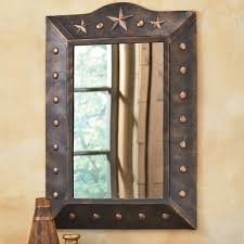 Unique Wall Mirrors by Western Wall Mirrors For Bathroom Home
