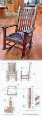 Modern Furniture Woodworking Plans by Craftsman Rocking Chair Plans Furniture Plans And Projects