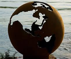 Sphere Fire Pit by Planet Earth Globe Fire Pit Dudeiwantthat Com