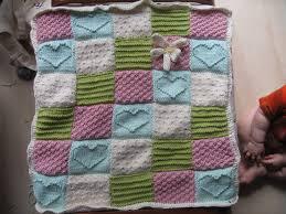 free pattern knit baby blanket free baby blanket knitting pattern elmare pinterest blanket