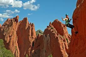 Rock Climbing Garden Of The Gods Colorado Springs Adventure Packages Garden Of The Gods Collection