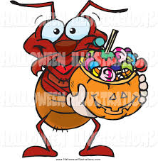 royalty free stock halloween designs of bugs